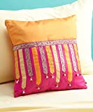 "Tangerine Cushion 16 * 16"" with filler"
