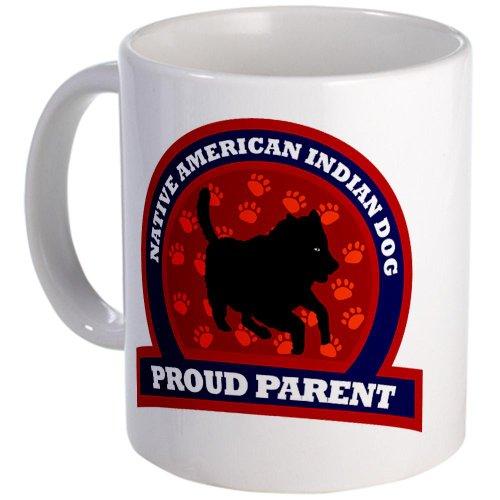 Cafepress Native American Indian Dog Mug - Standard