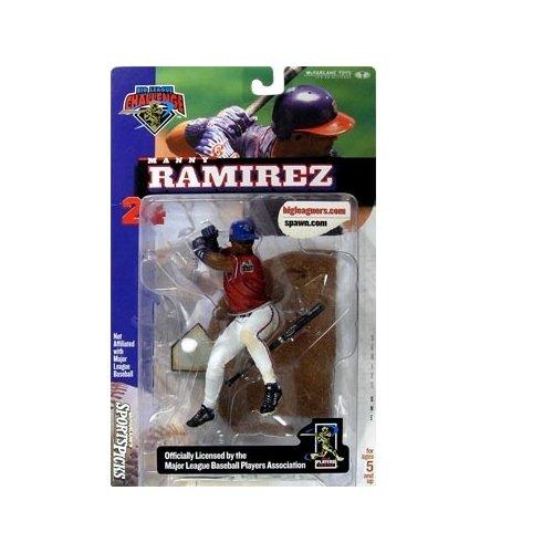 McFarlane Sportspicks: MLBPA B.L.C. Series 1 Manny Ramirez (Chase Variant) Action Figure