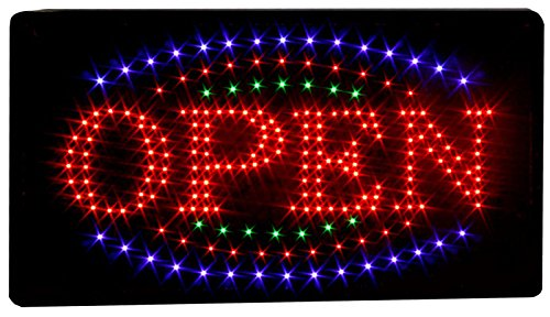 New Led Illuminated Advertising Signs Xxl Display Signs// Open..