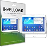INVELLOP Samsung Galaxy Tab 3 10.1 10inch Crystal Clear HD 3-pack Screen Protectors