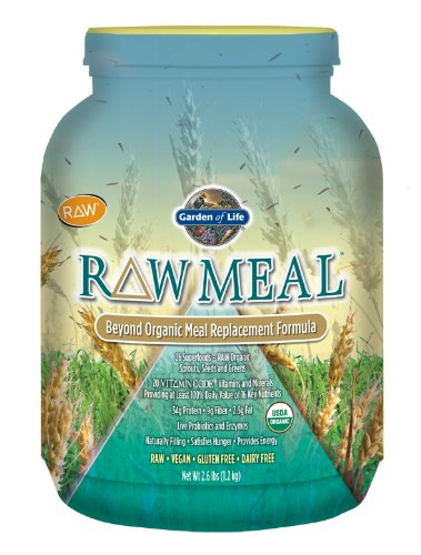 Garden of Life Raw Meal, 2.6 lbs.