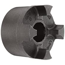 Lovejoy Curved Jaw Coupling, CJ Type, Coupling Hub, Cast Iron, Inch