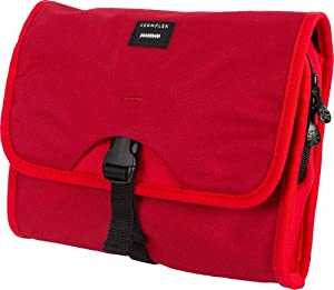 Crumpler The Dry Red No. 1 Travel Toiletry Bag and Shaving Kit from Crumpler