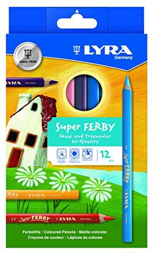 lyra-super-ferby-3721122-colorazione-matite-verniciato-in-cartone-12-assortiti-colori-metallizzati
