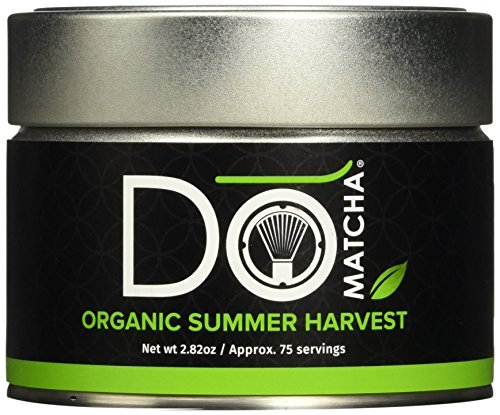 DōMatcha  Green Tea, Organic Summer Harvest Matcha, 2.82oz Tin