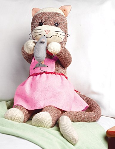 Check Out This Janlynn 21-Inch Miss Kitty Sock Monkey Companions Kit