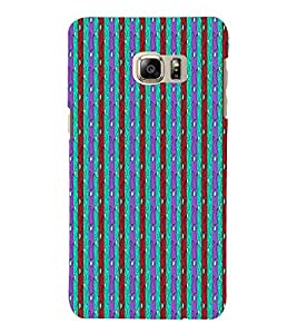 Lines Road Blue Green Red 3D Hard Polycarbonate Designer Back Case Cover for Samsung Galaxy Note 7 : Samsung Galaxy Note 7 N930G : Samsung Galaxy Note 7 Duos