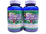 Pure Green Coffee Bean Extract Max ~ Strongest Diet Pill ~ 910mg Weight Loss Formula ~ Green Coffee Bean Extract 800mg ~ 100mg Raspberry Ketones ~ Downloadable FOOD JOURNAL Included ~ Contains up to 45% to 50% Chlorogenic Acid ~ 2 Month Supply