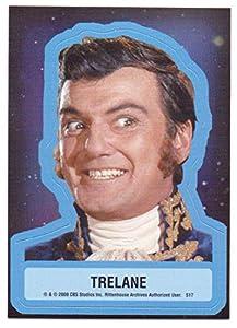 Trelane Star Trek The Original Series 40th Annivesary Series 2 Sticker #S17 - William Campbell