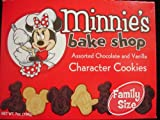 Disney Minnie's Bake Shop Assorted Chocolate & Vanilla Character Cookies : Family Size - 7oz