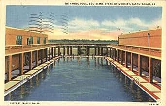 Swimming Pool Louisiana State University Baton Rouge Original Vintage Postcard At Amazon 39 S