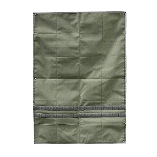 OneTigris Patches Display Panel, Durable Foldable Tactical Morale Patches Holder Available in 3 Colors (Ranger Green) (Molle Door Panel compare prices)