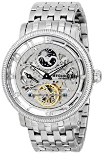 Stuhrling Original Men's 8411.33112 Symphony Symphony DT Analog Display Automatic Self Wind Silver Watch