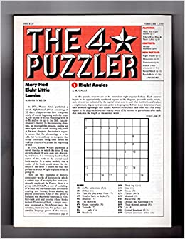 Lucrative image with star magazine crossword puzzles printable
