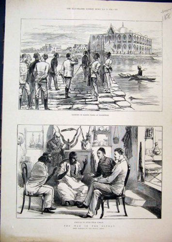 1884 War Soudan Baker Pasha Massowah Spies Sinkat
