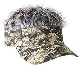 Flair Hair Gray Hair Visor
