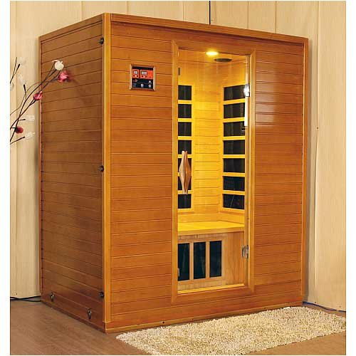 LifeSmart 9333 Three Person Sauna with Carbon Heaters