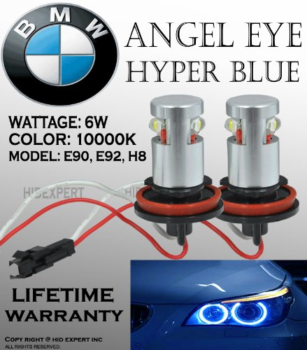 Abl Bmw E39 E53 E60 E61 E63 E64 E65 E66 E87 Blue Led Angel Eyes Halo Light Bulbs