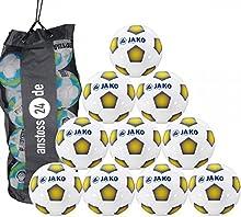 10 x JAKO Baile Goal Punzón Incl. Saco para bolas