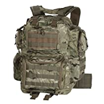 Voodoo Tactical Improved Matrix Pack Backpack MOLLE - Hydration Compatible - 15-9032 Multicam Camo