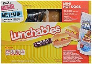 Oscar Mayer Lunchables Hot Dogs Mini with Capri Sun Roarin ...