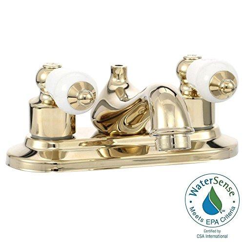 Glacier Bay Bath Faucet, Polished Brass 102 823 (Glacier Bay Teapot Faucet compare prices)