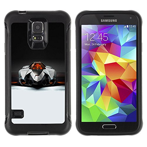 Zfresh Rugged Protective Case Cover Ux - Samsung Galaxy S5