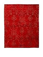 RugSense Alfombra Soft Silk Nepal (Rojo)
