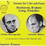 Beethoven, Brahms, Grieg, Prokofiev: Sonatas for cello & piano