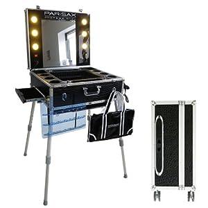 valise maquillage trolley professionnelle croco noir parisax beaut et parfum. Black Bedroom Furniture Sets. Home Design Ideas
