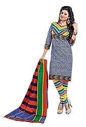 Balaji Women's Cotton Unstitched Dress Material_5116_Multicolored_Freesize