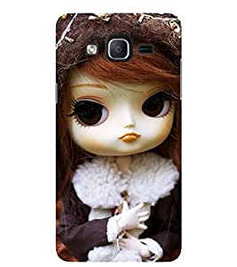 Evaluze girl Printed Back Cover for SAMSUNG GALAXY ON5 2015