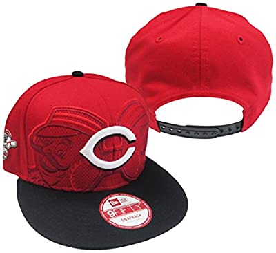 Cincinnati Reds Double Header Adjustable Snapback Hat / Cap