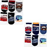 Disney Cars Variety 6-Pack Infant & Toddler Socks