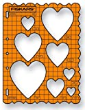 Fiskars Hearts Shape Template