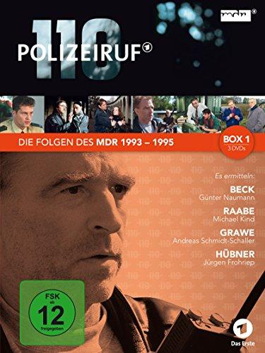 Polizeiruf 110 - MDR-Box 1 [3 DVDs]