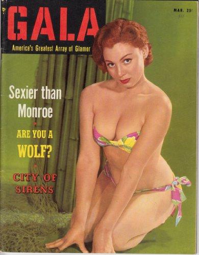 Gala vol.04 no.06 March 1954: America's Greatest Array of Glamor PDF
