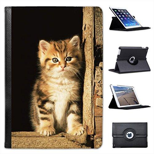 furry-cute-innocent-kitten-sat-in-barn-for-apple-ipad-mini-ipad-mini-retina-leather-folio-presenter-