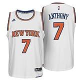 Carmelo Anthony New York Knicks #7 NBA Youth Road Jersey White (Medium (10-12))