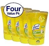 Lysol No-Touch Hand Soap Refill 8.5 Fl Oz Fresh Citrus Squeeze Scent 4 Count