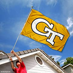 Buy Georgia Tech Yellow Jackets GT University Large College Flag by College Flags and Banners Co.