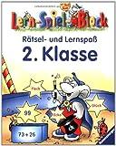 Lern-Spiel-Block: Rätsel- und Lernspaß: 2. Klasse