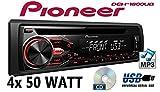 Opel-Corsa-B-Pioneer-DEH-1800UB-CDMP3USB-Autoradio-Einbauset