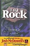 img - for The Rock: The Bible for Making Right Choices (New Living Translation) book / textbook / text book