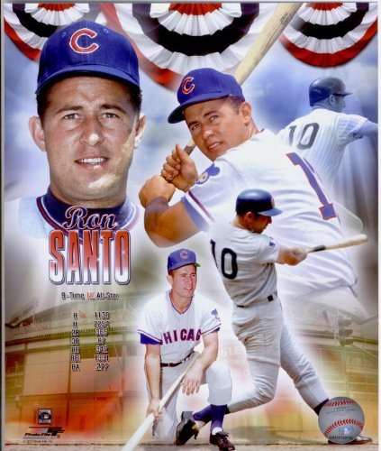 Ron Santo Chicago Cubs 8x10 Photo Collage #41 at Amazon.com