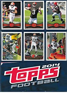 Cleveland Browns 2012, 2013, 2014 Topps Football complete team sets including Johnny... by Topps