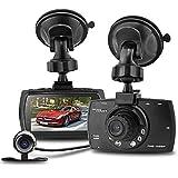 Amazon.co.jpSeresRoad G30B Allwinner A10の二重レンズ超高画質ドライブレコーダー 2.7インチTFT画面 1080Pカメラ モーション検出 Gセンサー HDMIアウトピット IR暗視機能付き