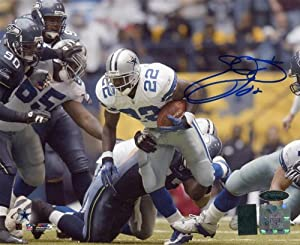 Emmitt Smith Signed Autographed Dallas Cowboys 8x10 Photo by Insider Sports Deals
