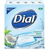 Dial Coconut Water Glycerin Bar Soap - 10 Bars